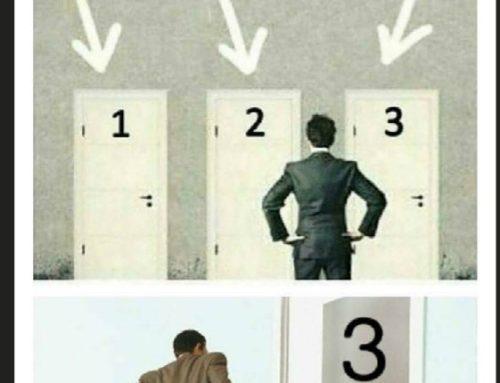 Escolle que porta abrir